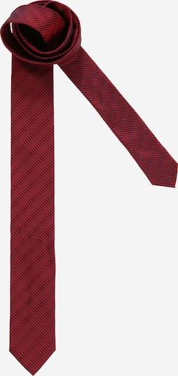 HUGO Cravate en rose foncé / grenadine, Vue avec produit