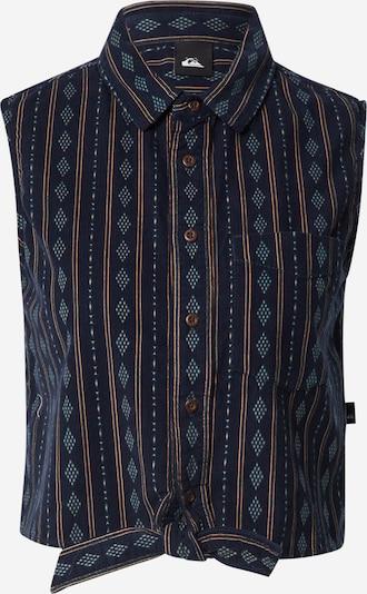 QUIKSILVER Blusa 'SUNSHINE COAST' en navy / marrón claro / petróleo, Vista del producto