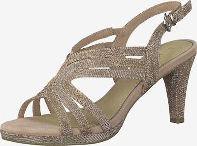 Sandalo con cinturino MARCO TOZZI di colore beige, Visualizzazione prodotti