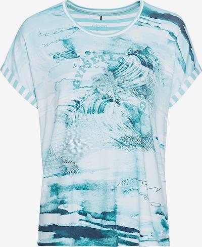 Olsen Shirt in hellblau / weiß, Produktansicht