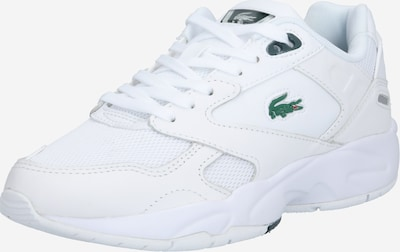 LACOSTE Niske tenisice 'Storm 96' u tamno zelena / bijela: Prednji pogled