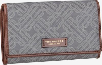 The Bridge Portmonnaie ' Anna 8710 ' in braun / grau, Produktansicht