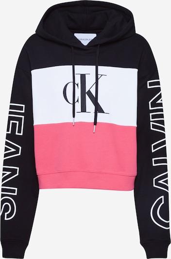 Calvin Klein Jeans Sweatshirt in Pink / Black / White, Item view
