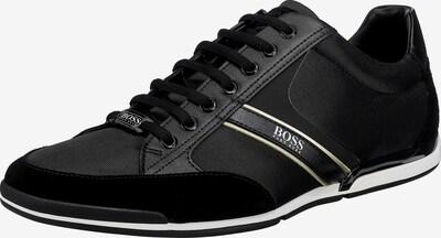 BOSS Casual Sneaker 'Saturn' in schwarz / weiß, Produktansicht