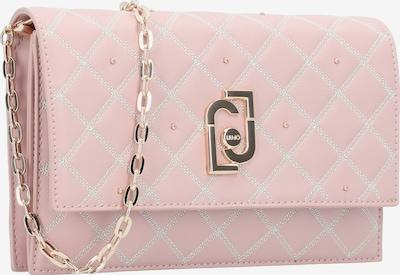 Liu Jo Clutch Tasche Leder 22 cm in creme / gold / pink / rosa, Produktansicht