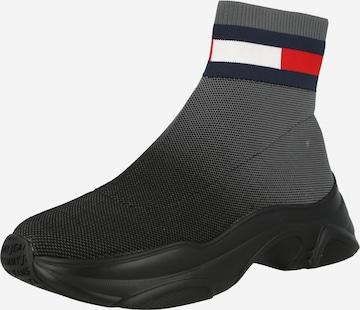 Tommy Jeans Členkové čižmy - Čierna
