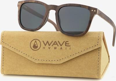 Wave Hawaii Sonnenbrille ' Aik ' in braun, Produktansicht