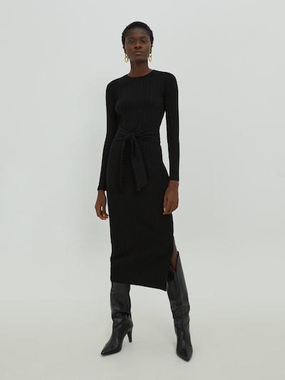 EDITED Kleid 'Iris' in schwarz, Modelansicht