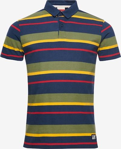 Superdry Shirt 'Cali' in blau / gelb / grün / rot, Produktansicht