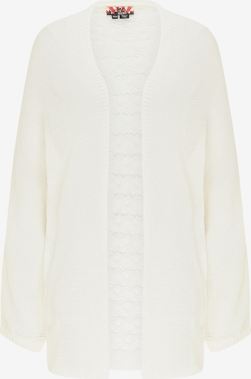 myMo ROCKS Cardigan en blanc, Vue avec produit