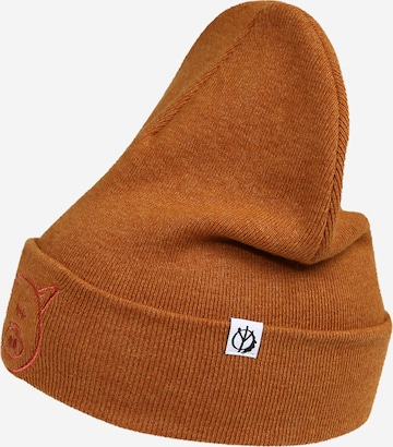 ABOUT YOU x Benny Cristo Müts 'Anton', värv oranž