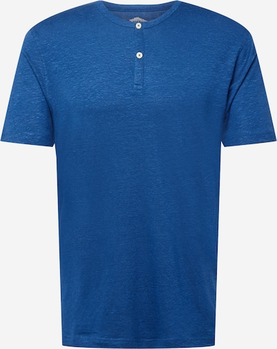 FYNCH-HATTON T-Krekls 'Henley', krāsa - zils, Preces skats