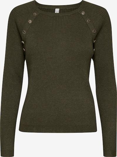 PULZ Jeans Strickpullover 'PZSARA' in grün, Produktansicht