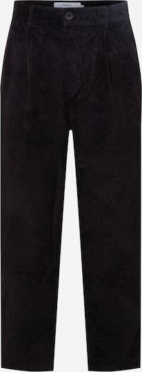 DEDICATED. Pantalon à pince en noir, Vue avec produit