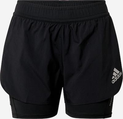 ADIDAS PERFORMANCE Pantalon de sport en gris clair / noir, Vue avec produit