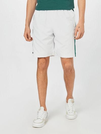 Lacoste Sport Športne hlače | zelena / bela barva, Prikaz modela