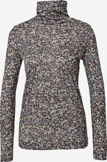 ESPRIT Shirt in blau / braun / hellbraun / schwarz, Produktansicht