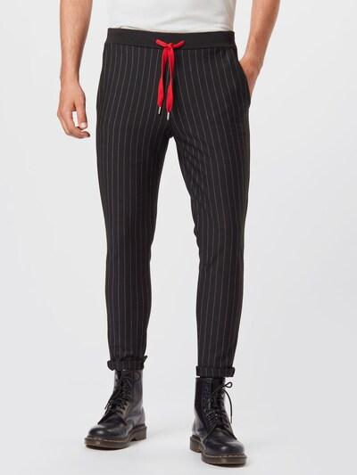 LTB Kalhoty 'MIYESE' - černá / bílá, Model/ka