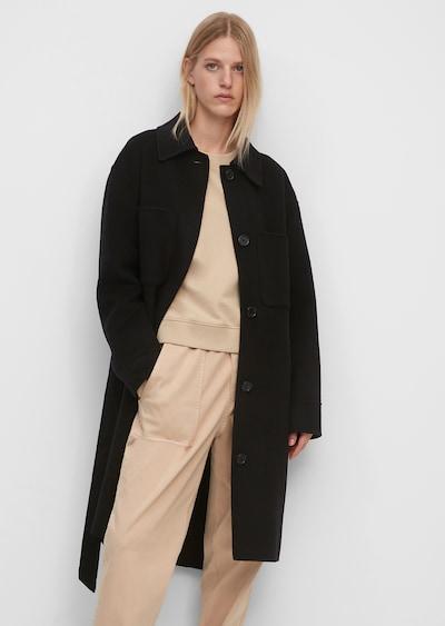 Marc O'Polo Mantel in schwarz, Modelansicht