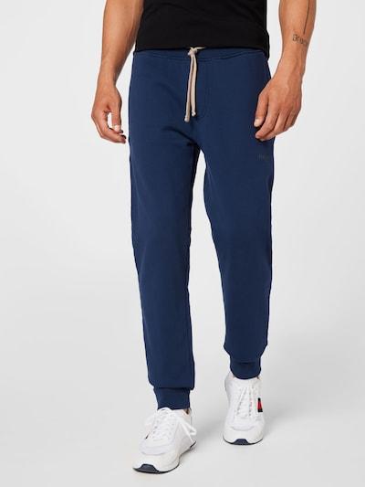 Pantaloni Hackett London di colore navy / mela: Vista frontale