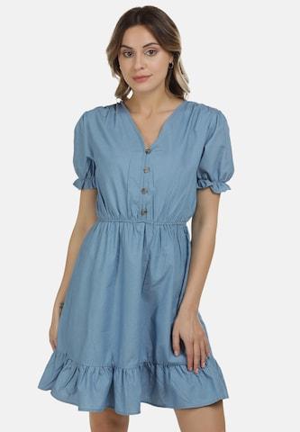 DreiMaster Vintage Kleid in Blau