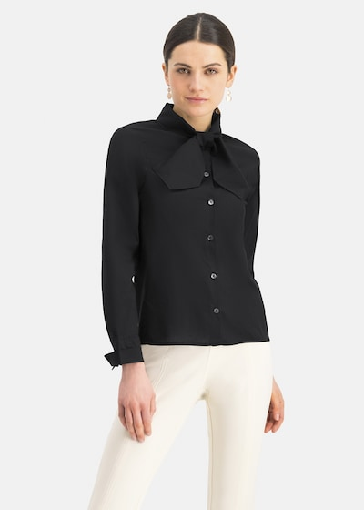Nicowa Bluse ' BONIWA ' in schwarz, Modelansicht