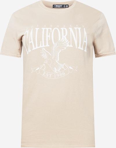 Missguided Plus T-Shirt in puder / weiß, Produktansicht