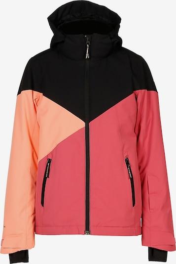 BRUNOTTI Skijacke 'SHEERWATER' in pastellorange / pink / schwarz, Produktansicht