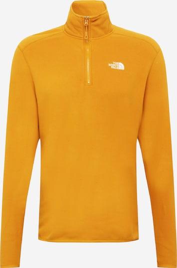 THE NORTH FACE Sportpullover in hellorange / weiß, Produktansicht
