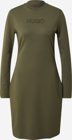 HUGO Šaty 'Dassy' - khaki / černá, Produkt