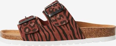 VERO MODA Pantofle 'Alda' - pueblo / starorůžová / černá, Produkt
