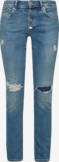 s.Oliver Jeans in de kleur Blauw: Vooraanzicht