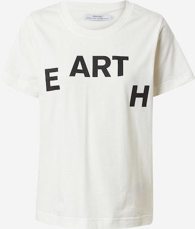 DEDICATED. Camiseta 'Mysen Earth' en negro / blanco, Vista del producto
