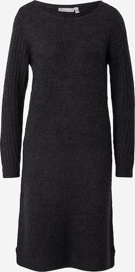 Rochie tricotat 'CESANDY' Fransa pe negru, Vizualizare produs