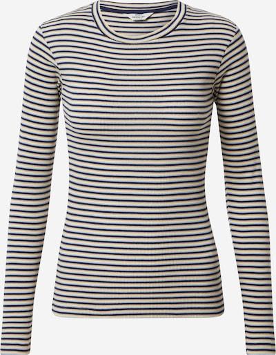 MADS NORGAARD COPENHAGEN Shirt 'Tuba' in de kleur Blauw / Lichtblauw / Lichtgeel / Lichtoranje, Productweergave
