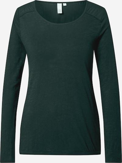 Q/S designed by Shirt in dunkelgrün, Produktansicht