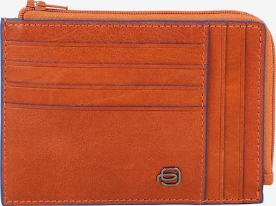 Piquadro Portemonnaie in blau / orange, Produktansicht