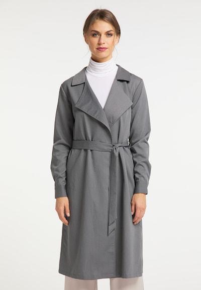 usha BLACK LABEL Mantel in grau, Modelansicht
