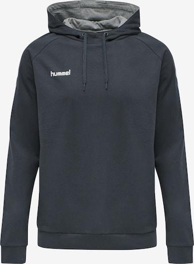 Hummel Sportsweatshirt in de kleur Donkergrijs / Wit, Productweergave