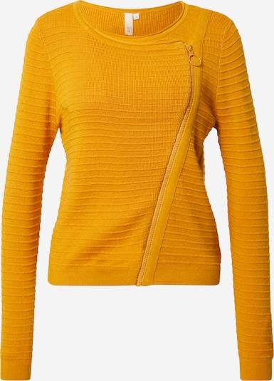 Pullover Q/S designed by di colore giallo: Vista frontale