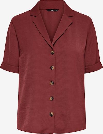Camicia da donna 'ONLSKY' ONLY di colore rosso ruggine, Visualizzazione prodotti