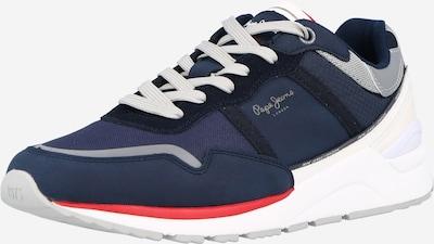 Pepe Jeans Nízke tenisky 'X20 BASIC HALF' - modrá / strieborná / biela, Produkt