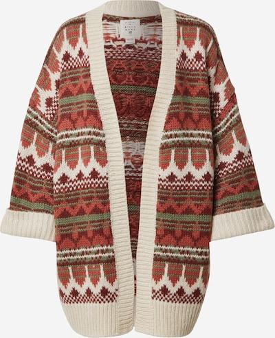 BILLABONG Pletený kabát 'Wintersounds' - zmiešané farby / červená, Produkt