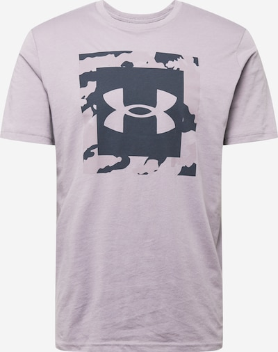 UNDER ARMOUR T-Shirt in dunkelgrau / flieder, Produktansicht