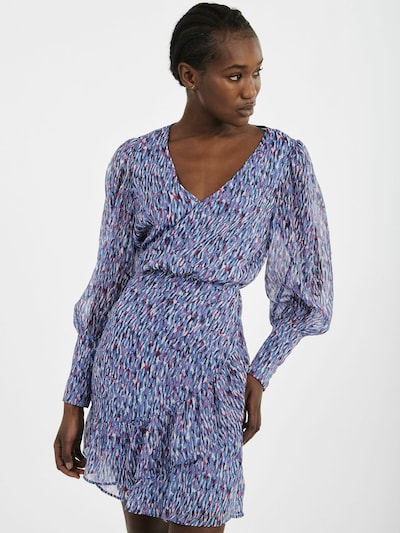 NAF NAF Kleid 'Angie' in blau / mischfarben, Modelansicht
