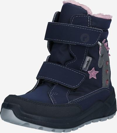 RICOSTA Snow boots 'ANNIKA' in Dark blue / Grey / Pink / Pastel red, Item view
