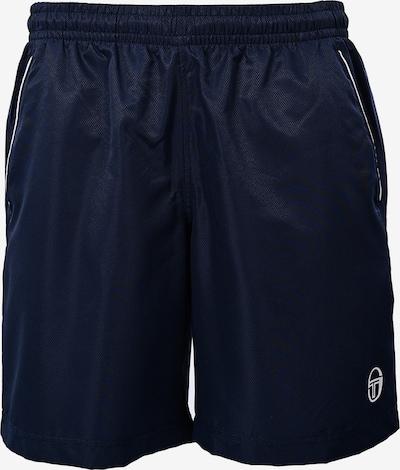 Sergio Tacchini Pantalon de sport en bleu marine, Vue avec produit