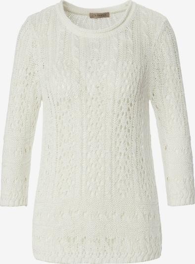 Uta Raasch 3/4 Arm-Pullover Pullover mit 3/4-Arm in weiß, Produktansicht