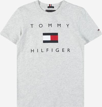 TOMMY HILFIGER Camiseta en navy / gris claro / rojo / blanco, Vista del producto