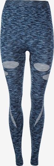 ENDURANCE Tights' Battipaglia' in blau / blaumeliert, Produktansicht